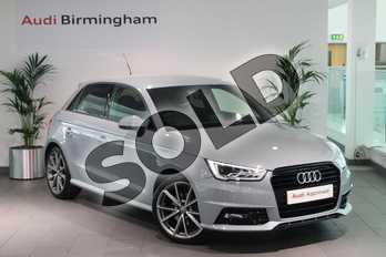 Audi A1 Special Editions 1.4 TFSI 150 Black Edition 5dr in Arrow Grey Pearlescent at Birmingham Audi