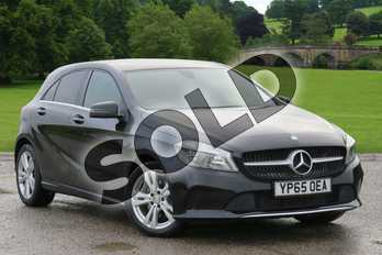 Mercedes-Benz A Class Diesel A200d Sport 5dr in Cosmos Black at Mercedes-Benz of Boston