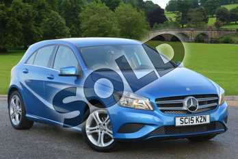 Mercedes-Benz A Class Special Editions A180 CDI Sport Edition 5dr Auto in South Seas Blue at Mercedes-Benz of Boston