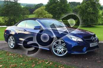 Mercedes-Benz E Class Diesel E350d AMG Line Edition 2dr 9G-Tronic in Brilliant Blue metallic at Mercedes-Benz of Grimsby