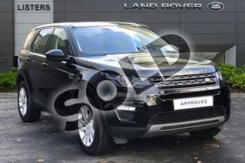 Land Rover Discovery Sport 2.0 TD4 180 SE Tech 5dr Auto in Narvik Black at Listers Land Rover Droitwich