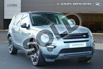 Land Rover Discovery Sport Diesel SW 2.0 TD4 180 HSE Black 5dr Auto in Scotia Grey at Listers Land Rover Hereford