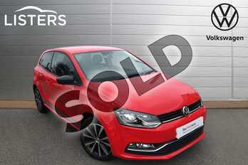 Volkswagen Polo 1.2 TSI Beats 3dr in Flash Red at Listers Volkswagen Worcester