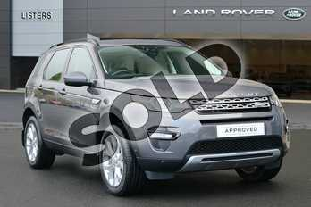 Land Rover Discovery Sport Diesel SW 2.0 TD4 180 HSE 5dr Auto in Waitomo Grey at Listers Land Rover Hereford