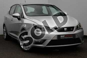 SEAT Ibiza 1.2 TSI 90 FR Technology 5dr in Silver at Listers SEAT Worcester