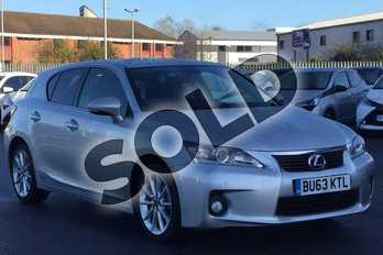 Lexus CT 200h 1.8 Advance 5dr CVT Auto in Satin Silver at Lexus Lincoln