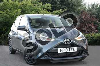 Toyota AYGO 1.0 VVT-i X-Play 5dr in Grey at Listers Toyota Nuneaton