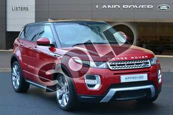 Range Rover Evoque Diesel 2.2 SD4 Autobiography 5dr Auto (9) in Firenze Red at Listers Land Rover Hereford
