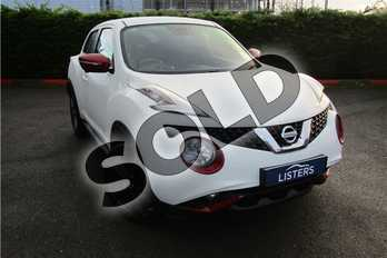 Nissan Juke 1.2 DiG-T Tekna 5dr in Special solid - Arctic white at Listers U Boston