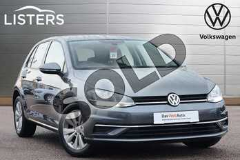 Volkswagen Golf 1.6 TDI SE (Nav) 5dr in Indium Grey at Listers Volkswagen Loughborough