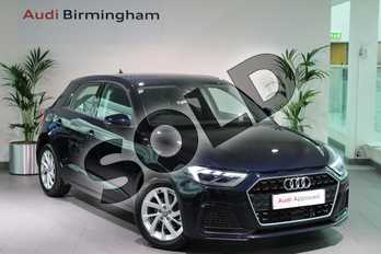Audi A1 30 TFSI Sport 5dr in Firmament Blue Metallic at Birmingham Audi