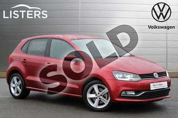 Volkswagen Polo 1.2 TSI 110 SEL 5dr in Carmen Red at Listers Volkswagen Nuneaton