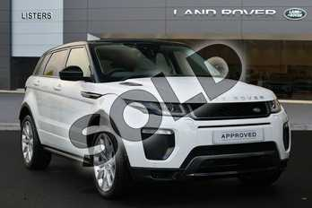 Range Rover Evoque Diesel 2.0 TD4 HSE Dynamic 5dr Auto in Fuji White at Listers Land Rover Hereford