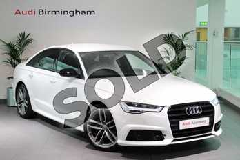 Audi A6 Special Editions 2.0 TDI Ultra Black Edition 4dr S Tronic in Ibis White at Birmingham Audi