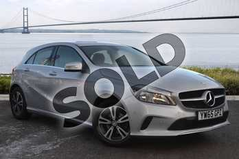 Mercedes-Benz A Class Diesel A180d SE 5dr Auto in Polar Silver at Mercedes-Benz of Hull