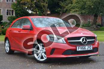 Mercedes-Benz A Class Diesel A200d Sport 5dr Auto in Jupiter Red at Mercedes-Benz of Lincoln