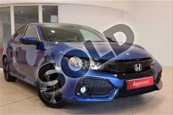 Honda Civic Diesel 1.6 i-DTEC SR 5dr Auto in Brilliant Sporty Blue at Listers Honda Solihull