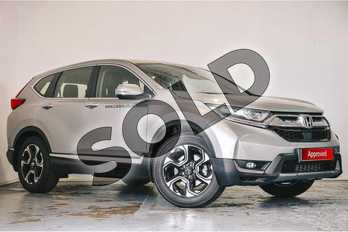 Honda CR-V 1.5 VTEC Turbo SE 5dr in Lunar Silver M at Listers Honda Solihull
