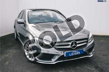 Mercedes-Benz C Class Diesel C220d AMG Line Premium 4dr Auto in Metallic - Selenite Grey at Listers U Solihull