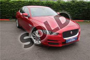 Jaguar XE Diesel 2.0d Portfolio 4dr Auto in Metallic - Odyssey red at Listers U Boston