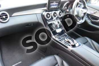 Mercedes-Benz C Class Diesel C200 BlueTEC AMG Line Premium 4dr Auto in Metallic - Obsidian black at Worcester Audi