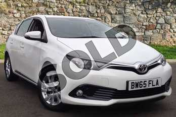 Toyota Auris 1.2T Icon 5dr in Pure White at Listers Toyota Coventry