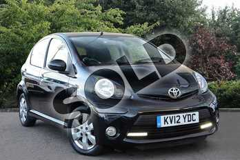 Toyota AYGO 1.0 VVT-i Fire 5dr (AC) in Black at Listers Toyota Nuneaton