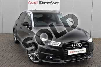 Audi A1 Special Editions 1.4 TFSI 150 Black Edition 5dr S Tronic in Mythos Black, metallic at Stratford Audi