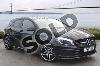 Mercedes-Benz A Class Special Editions A220 CDI AMG Night Edition 5dr Auto in Cosmos Black at Mercedes-Benz of Hull