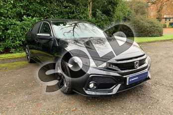 Honda Civic Diesel 1.6 i-DTEC SR 5dr in Crystal Black at Listers Honda Coventry