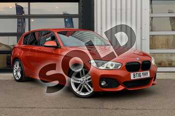 BMW 1 Series Diesel 118d M Sport 5dr in Valencia Orange at Listers King's Lynn (BMW)
