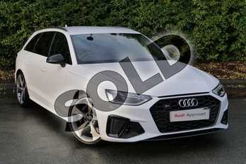 Audi A4 S4 TDI Quattro Black Edition 5dr Tiptronic in Ibis White at Worcester Audi