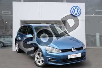 Volkswagen Golf 1.4 TSI Match 5dr in Pacific Blue at Listers Volkswagen Evesham
