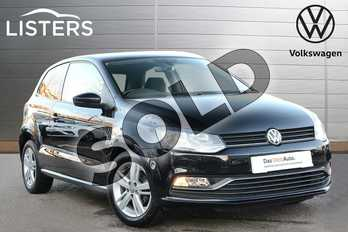 Volkswagen Polo 1.2 TSI Match Edition 3dr in Deep black at Listers Volkswagen Leamington Spa