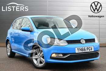 Volkswagen Polo 1.2 TSI Match 5dr in Mayan Blue at Listers Volkswagen Loughborough