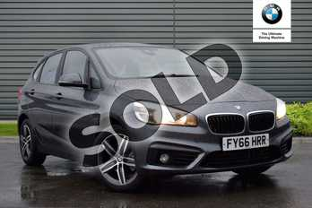 BMW 2 Series 218d Sport Active Tourer in Mineral Grey at Listers Boston (BMW)