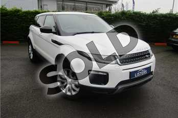 Range Rover Evoque Diesel 2.0 eD4 SE Tech 5dr 2WD in Solid - Fuji white at Listers U Boston
