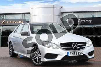 Mercedes-Benz E Class Diesel E220 BlueTEC AMG Night Ed Premium 4dr 7G-Tronic in Silver at Lexus Coventry