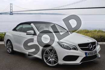 Mercedes-Benz E Class Diesel E350d AMG Line Edition 2dr 9G-Tronic in Polar white at Mercedes-Benz of Hull