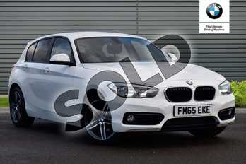 BMW 1 Series 118i (1.5) Sport 5dr Step Auto in Alpine White at Listers Boston (BMW)