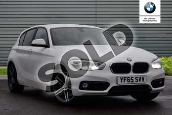 BMW 1 Series 120i Sport 5dr in Alpine White at Listers Boston (BMW)