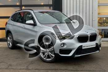 BMW X1 xDrive 20i Sport 5dr Step Auto in Glacier Silver at Listers King's Lynn (BMW)