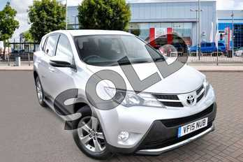 Toyota RAV4 Diesel 2.0 D-4D Business Edition 5dr 2WD in Silver at Listers Toyota Cheltenham