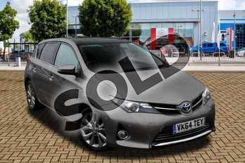 Toyota Auris 1.8 VVTi Hybrid Excel 5dr CVT Auto in Brown at Listers Toyota Cheltenham