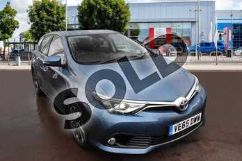 Toyota Auris 1.2T Design TSS 5dr in Denim Blue at Listers Toyota Cheltenham