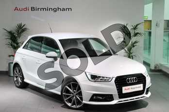 Audi A1 Special Editions 1.4 TFSI 150 Black Edition 5dr S Tronic in Glacier White, metallic at Birmingham Audi