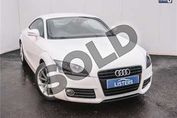 Audi TT 1.8T FSI Sport 2dr in Solid - Ibis white at Listers U Solihull