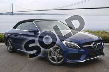 Mercedes-Benz C Class Diesel C220d AMG Line 2dr Auto in Brilliant Blue Metallic at Mercedes-Benz of Hull