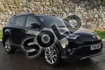 Toyota RAV4 2.5 VVT-i Hybrid Excel 5dr CVT in Eclipse Black at Listers Toyota Boston