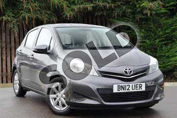 Toyota Yaris 1.33 VVT-i TR 5dr in Decuma Grey at Listers Toyota Coventry